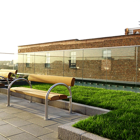 Vista balustrades offer accessibility for Greenwood Place